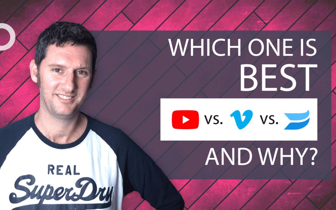 Youtube vs. Wistia vs. Vimeo